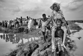 Rohingya  Refugees  Coming Bangladesh