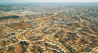 A Birdseye view of Rohingya Refugees camp