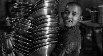 Making aluminium pots