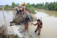Rohingya  Refugees  Coming Bangladesh