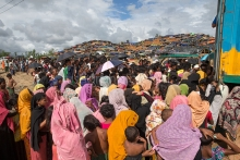 Rohingya refugees are waiting for relief